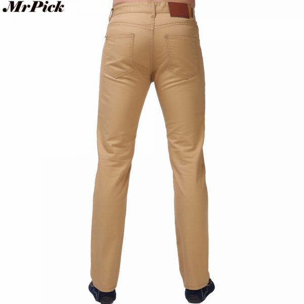 Fashion Men Jeans Straight Casual Jeans