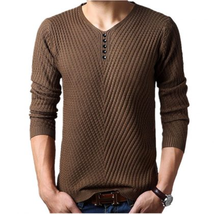 Men Cashmere Pullover Christmas Sweater