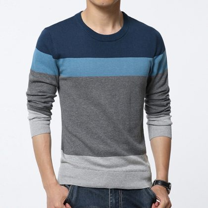 New Sweater Men Soft Quality Pullover