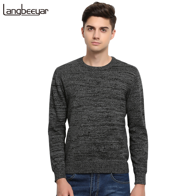 Slim Fit Men Pullover Knitted Sweater