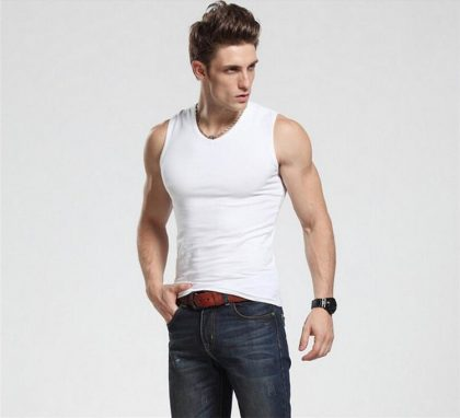 Summer Cotton O-Neck Tank Tops