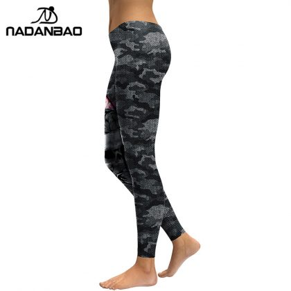 3D Printed Camouflage Legging Workout Leggins