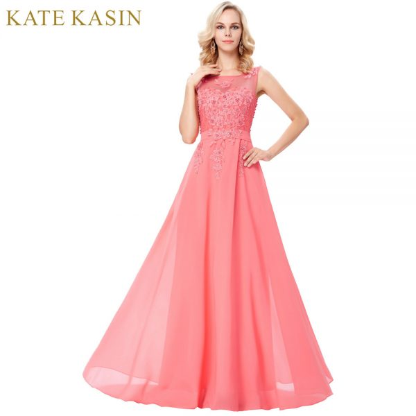 Chiffon Evening Dress Long Formal Dresses