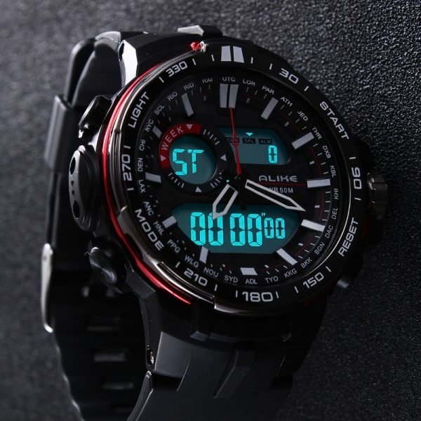 Casual Waterproof Watch Sports Military Watches