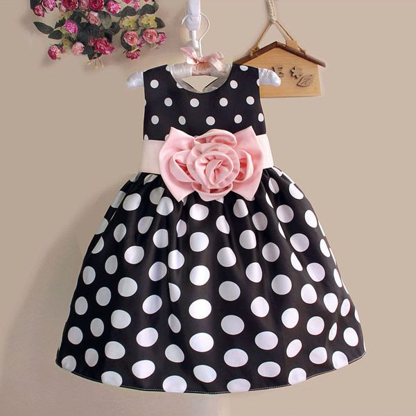 Christmas Super Flower Girls Dresses Kids Dress