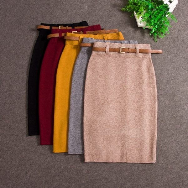 Fashion Skirts Slim Long Skirt Pencil Skirt