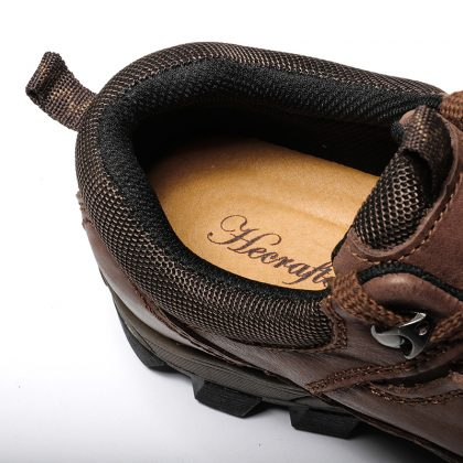 Full Genuine Cow Leather Men Boots