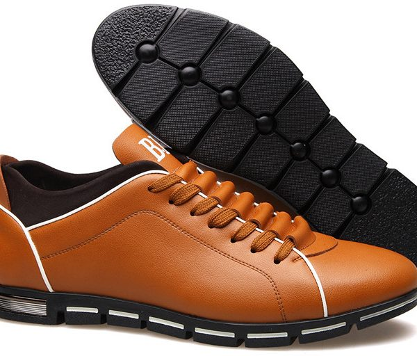 Men Shoes Casual Leisure Shoes Leather Shoes
