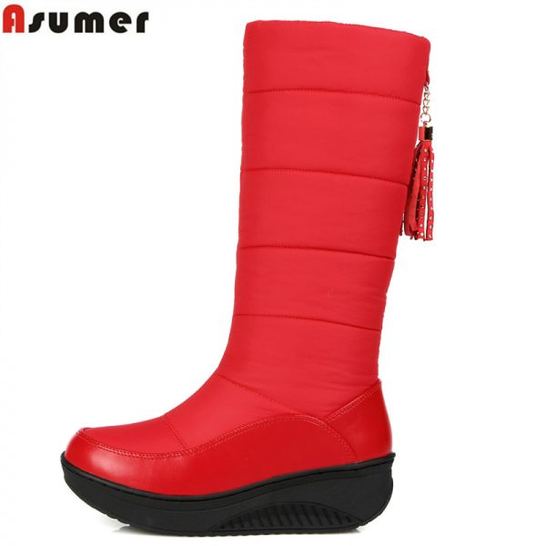 Warm Snow Boots Knee High Boots
