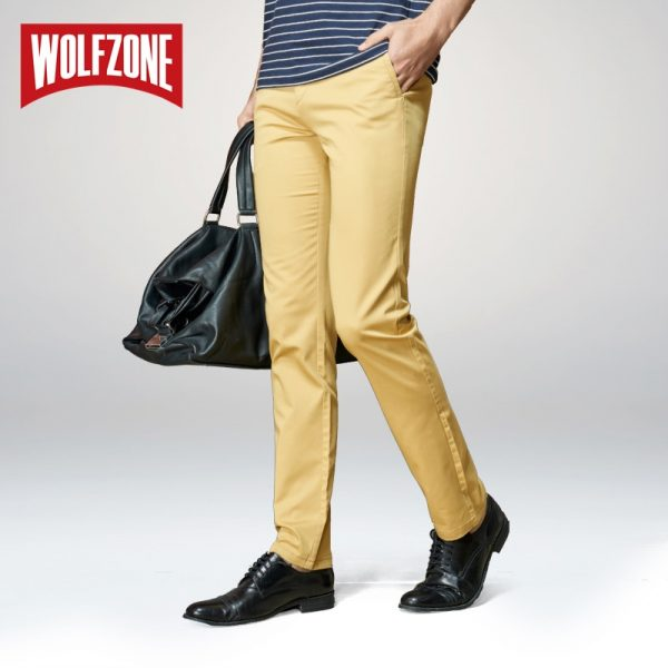 Casual Men Pants Classic Fashion Trousers