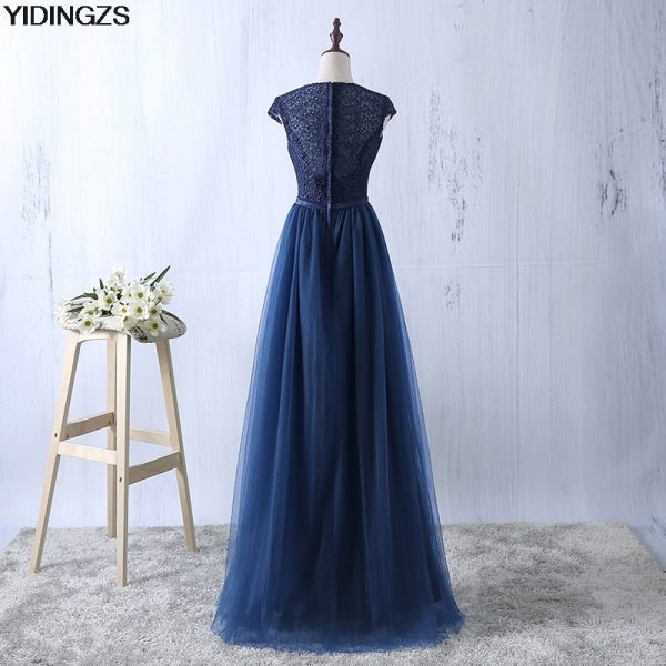 Floor-Length Prom Dress Long Evening Party Dress