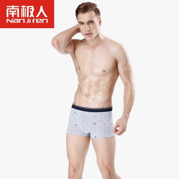 Men Underwear Boxers Shorts Soft Male Panties