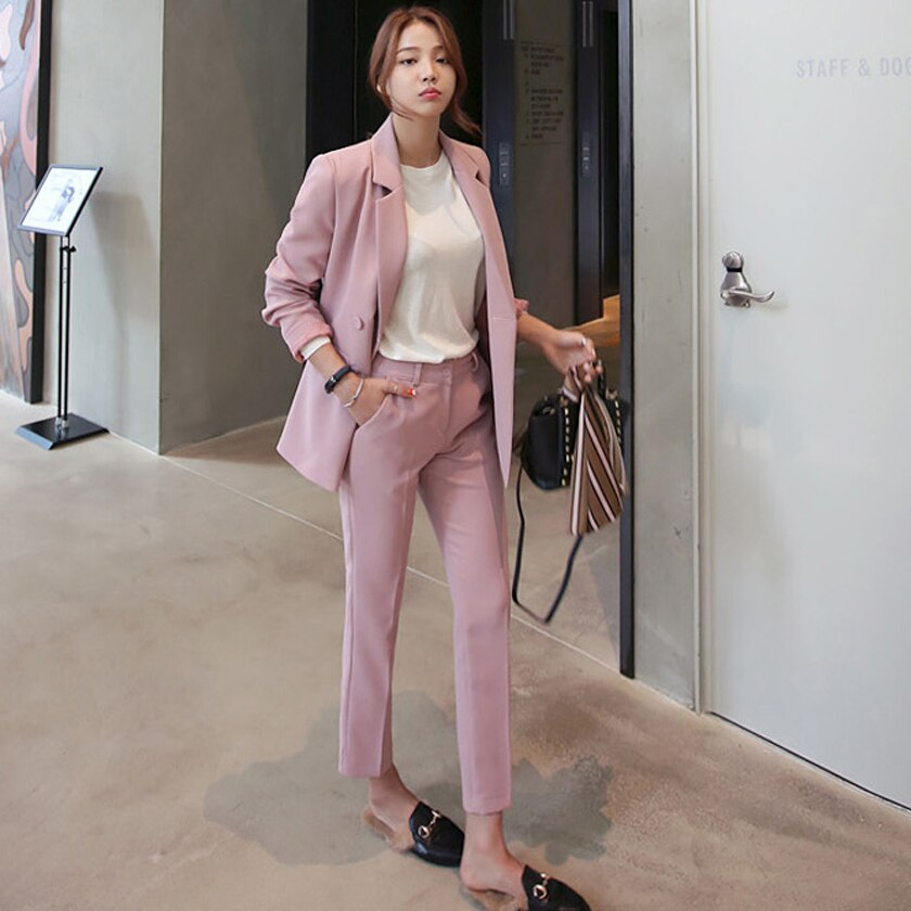 A Pink Blazer For Any Occasion