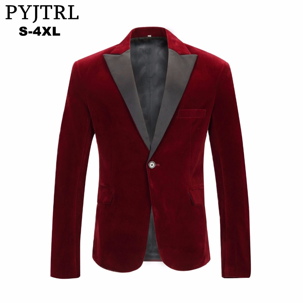 Wearing Trendy Red Blazers