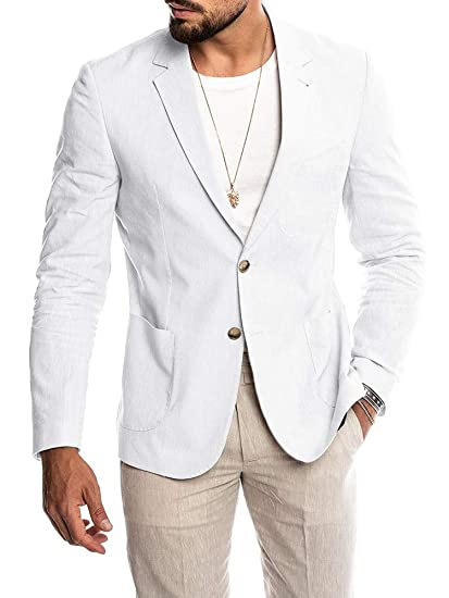 Cool Outfit Ideas for a White Blazer For Men