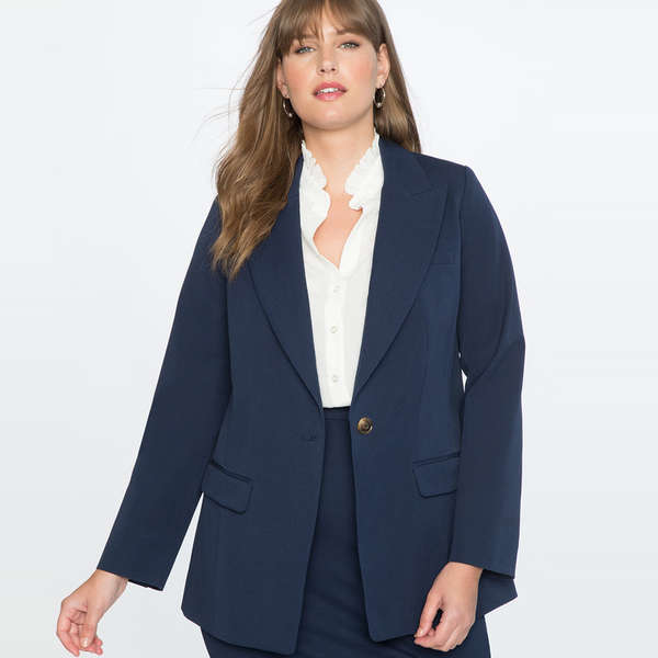 Post Shared Fashions For Plus Size Blazer Fashion