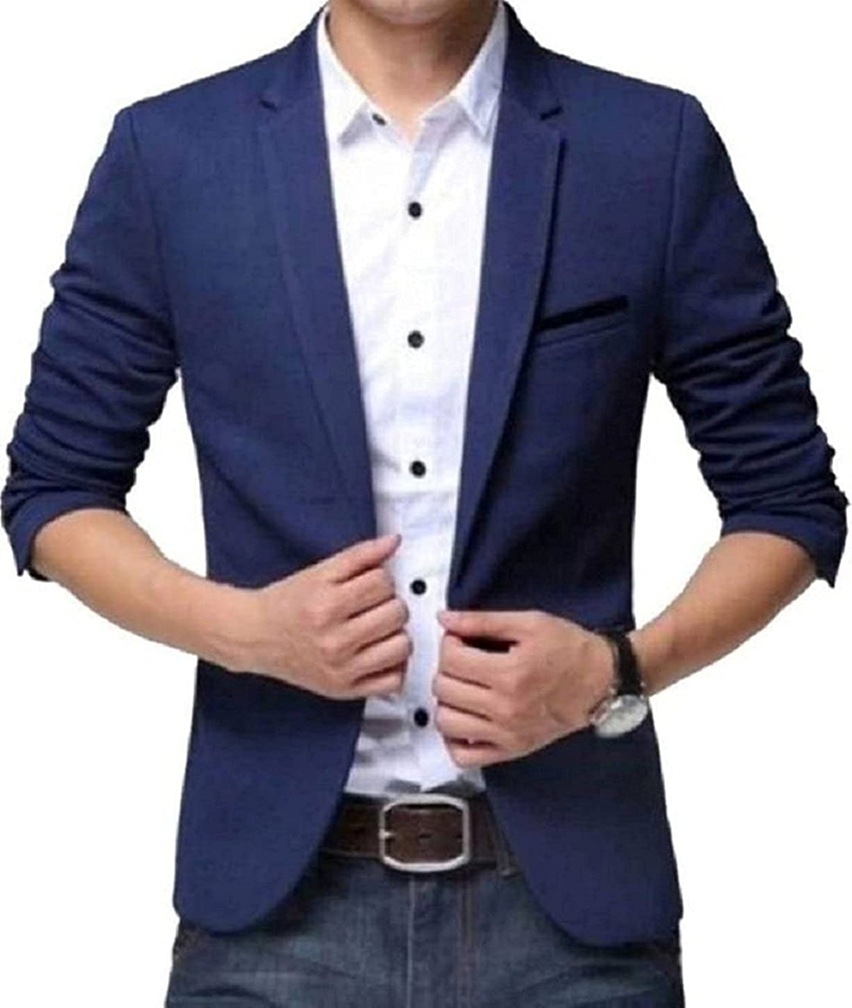 Blue Blazer Mens Jackets and Sweaters