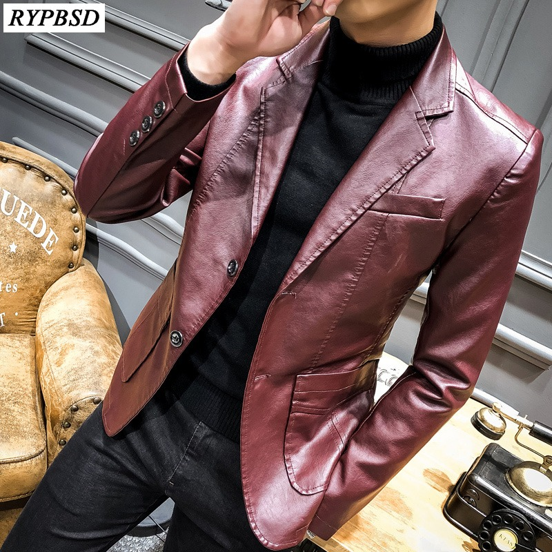 What to Consider When Buying Men's Leather Blazers