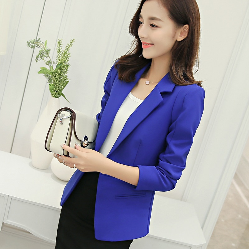 Womens Blue Blazer - Fashionable and Sophisticated