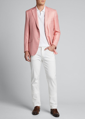 Tips For Buying A Pink Blazer Mens Style