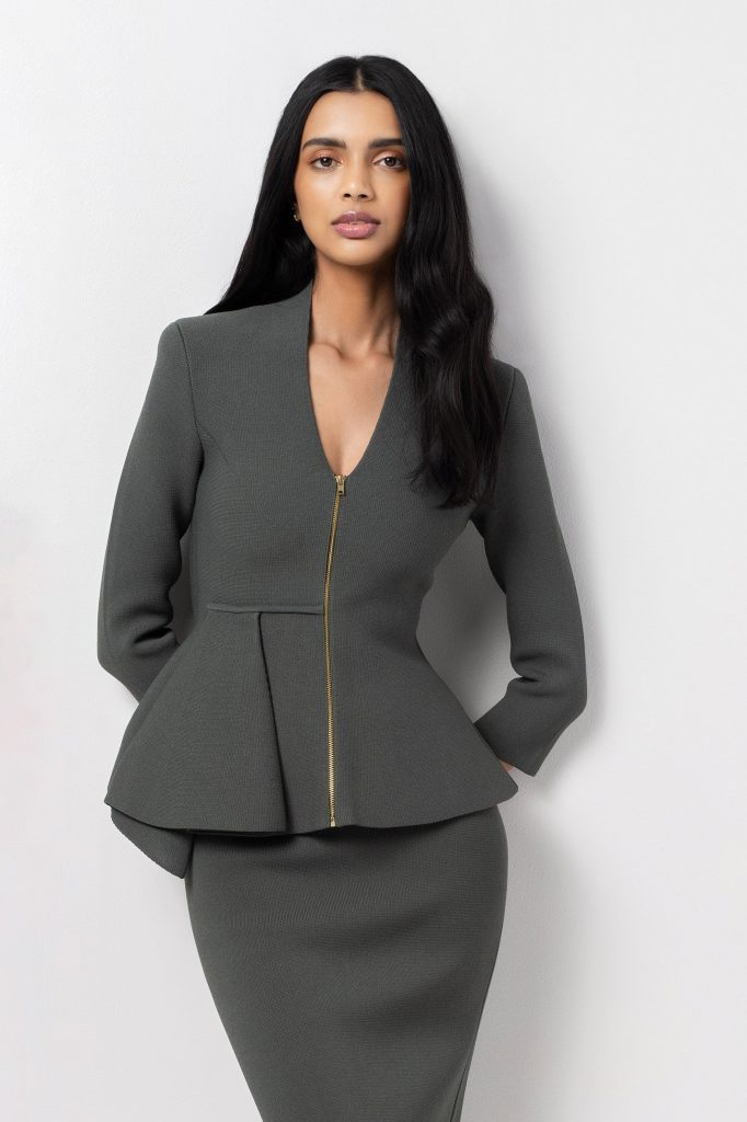 Wearing the Right Peplum Blazer Can Complete Your Look