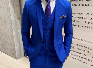 The Royal Blue Blazer