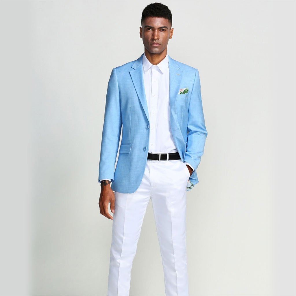 Top Tips for Wearing a Light Blue Blazer With the Right Outfit