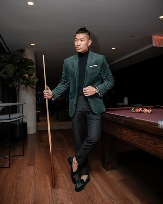 Why A Green Velvet Blazer Mens Jacket Is Great For Any Occasion?