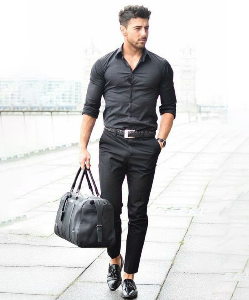 Three Designers Of The Best Black Pants Suits